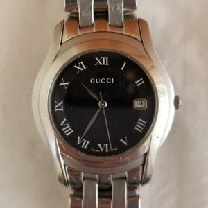 Gucci Stainless Steel Mens Watch, Model 5500M
